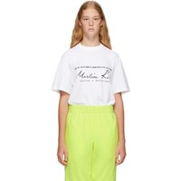 Martine Rose White Classic T Shirt