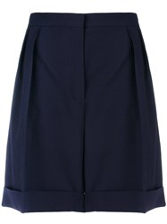 Paul Smith Ps By Wide Legged Tailored Shorts Blue