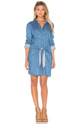 Minkpink Jericho Shirt Dress Blue