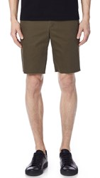 Vince Slim Fit Chino Shorts Camp Green