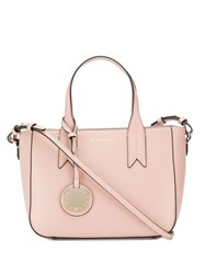 Emporio Armani Pink Leather Shoulder Bag