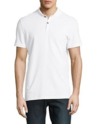 Eleven Paris Cotton Polo Shirt White