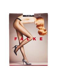 Falke Polka Dot 15 Denier Tights Black
