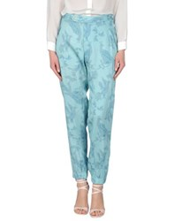 Baja East Trousers Casual Trousers Women Turquoise
