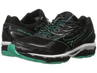 Mizuno Wave Paradox 3 Black Electric Green White Women's Running Shoes