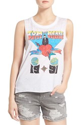 Women's Chaser Band Graphic Muscle Tank