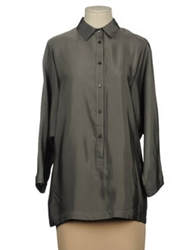 Jofre Shirts With 3 4 Length Sleeves Deep Jade