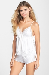 In Bloom By Jonquil 'Natalie' Camisole And Shorts White