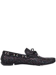 Just Cavalli Iridescent Loafers Black