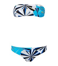 Emilio Pucci Abstract Print Bandeau Bikini Female Multi