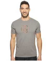 Prana Classic T Shirt Gravel Men's Clothing Silver