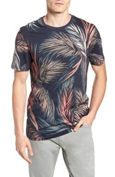 Ted Baker London Pencil Slim Fit T Shirt Navy