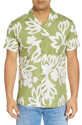 Kahala Simple Regular Fit Camp Shirt Sage
