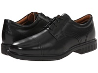 Rockport Dressports Luxe Cap Toe Ox Black Men's Lace Up Cap Toe Shoes