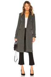 Bailey 44 Secret Agent Superluxe Fleece Trench Charcoal