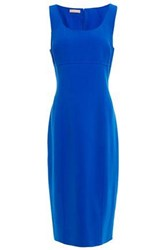 Michael Kors Collection Woman Stretch Wool Crepe Dress Cobalt Blue