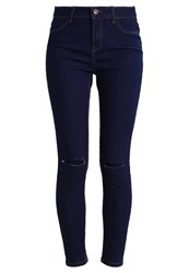 New Look Slim Fit Jeans Dark Blue Dark Blue Denim