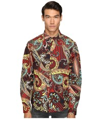 Versace Classic Button Down Russet