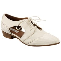 Alice By Temperley Somerset By Alice Temperley Felton Cut Out Brogues Cream