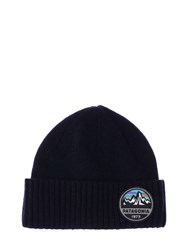 Patagonia Brodeo Rolled Beanie Navy