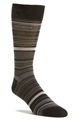 Boss Men's 'Rs Design Alt Stripe' Socks
