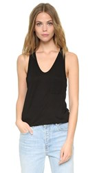 Alexander Wang T By Classic Tank With Pocket Black