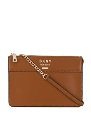 Dkny Cross Body Bag Brown
