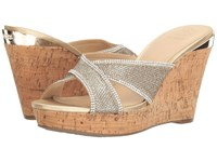 Guess Eleonora Gold Women's Wedge Shoes