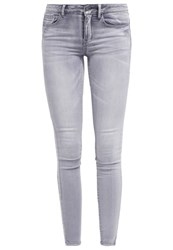 Vila Vicommit Slim Fit Jeans Grey Denim