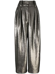 Marc Jacobs Micro Sequin Trousers Grey