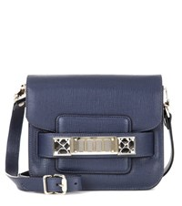 Proenza Schouler Ps11 Tiny Leather Crossbody Bag Blue
