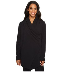 Lucy Calm Heart Pullover Black Women's Long Sleeve Pullover