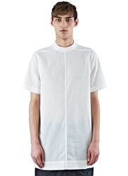 Rick Owens Moody Short Sleeved Tunic Top White