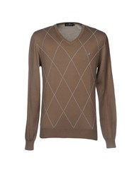 Brooksfield Sweaters Khaki