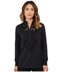 Kas Becky Top Black Women's Clothing