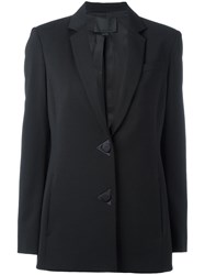 Alexander Wang Single Breasted Blazer Black