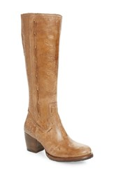 Bed Stu Fate Knee High Boot Caramel Lux