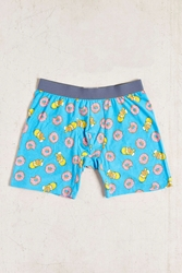 Urban Outfitters Homer Donuts Boxer Brief Blue Multi