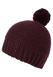 Gap Hat Rich Eggplant Bordeaux