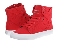 Supra Skytop D Red Canvas Women's Skate Shoes