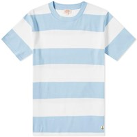 Armor Lux 77344 Rugby Stripe Tee White