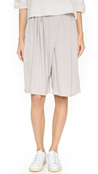 O'2nd Cupid Trouser Shorts Light Grey