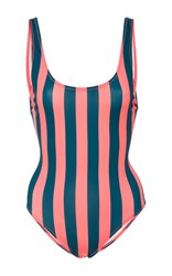 Solid And Striped Anne Marie One Piece Stripe