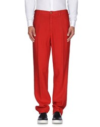 Zanella Trousers Casual Trousers Men Red