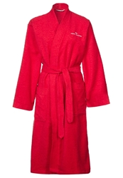 Tom Tailor Basic Kimono Dressing Gown Rot Dark Red
