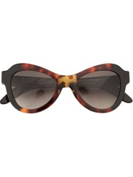 Kuboraum Oversized Sunglasses Multicolour