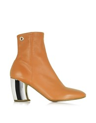 Proenza Schouler Tan Leather W Mirror High Heel Boot