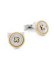Hickey Freeman Button Cufflinks Silver