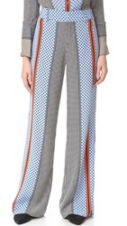 Derek Lam Wide Leg Pajama Trousers Light Pumice