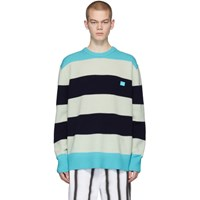 Acne Studios Multicolor Wool Block Stripe Nimah Sweater
